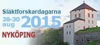 Släktforskardagarna 2015 i nyköping