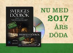Sveriges dödbok 7 1860-2017