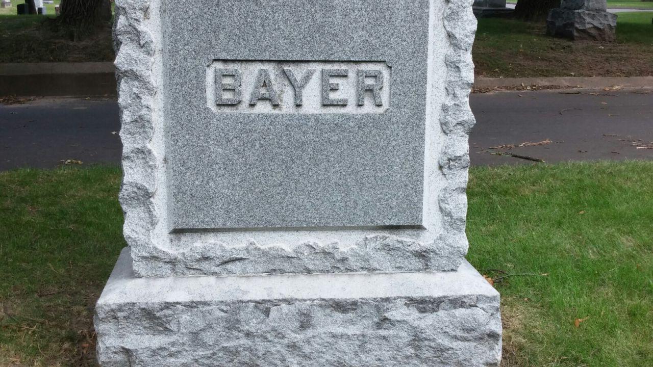 En Bayer som också försvann
