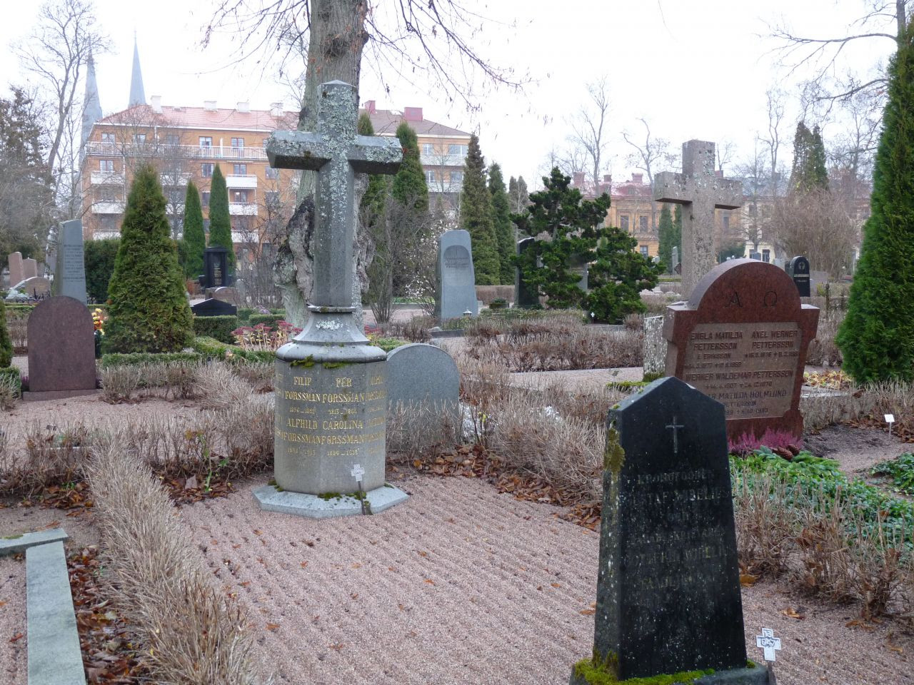 Vart tog Sven Bayers grav vägen?