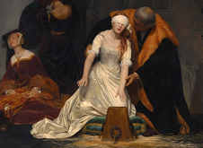 Paul Delaroche execution of Jane Grey 1833