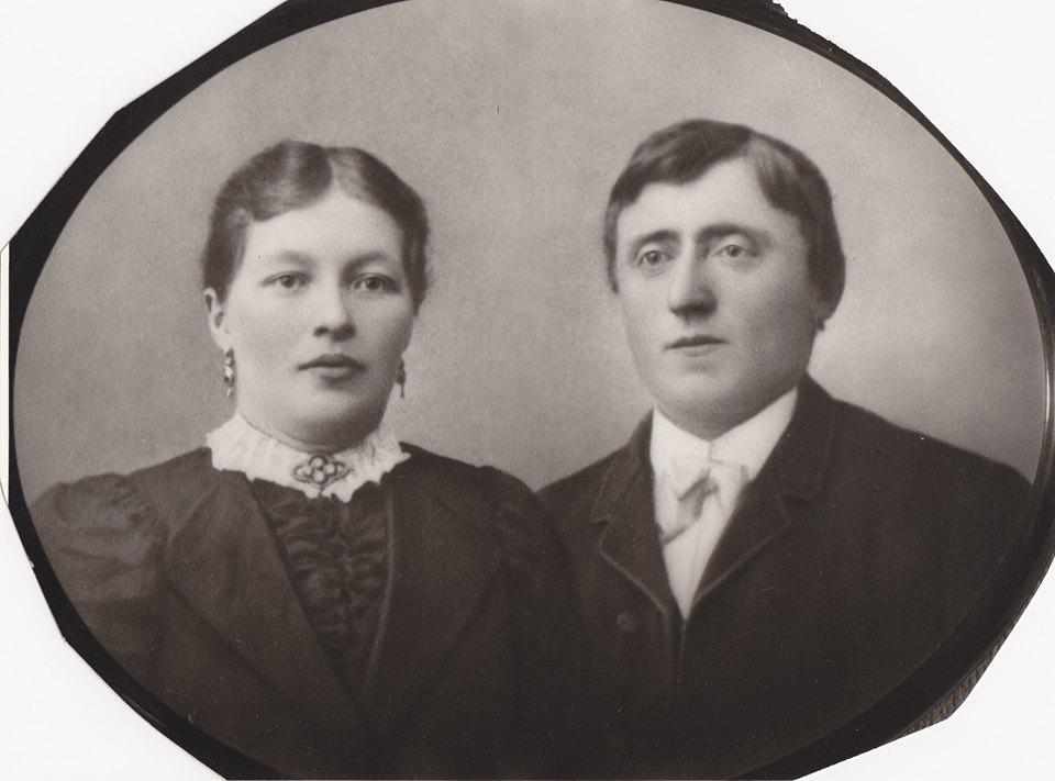 Anton och Maria Forssell, Holmfors
